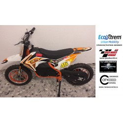 MINI MOTO CROSS ELECTRICA INFANTIL 500W